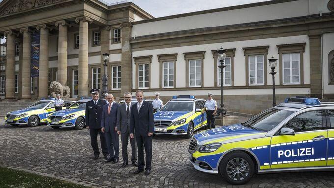 Übergabe von 645 Mercedes-Benz Dienstfahrzeugen an die Landespolizei Baden-Württemberg