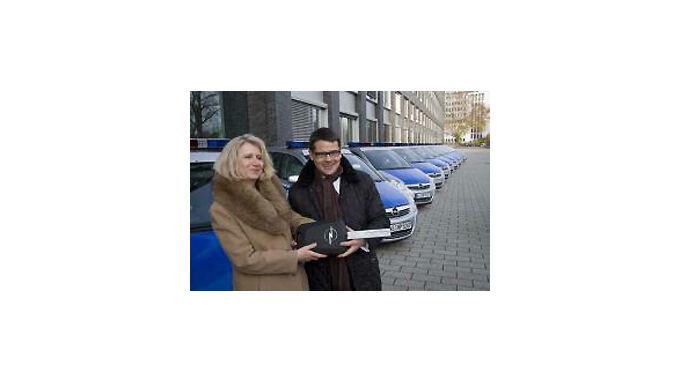 100 Opel Zafira für den Polizeidienst