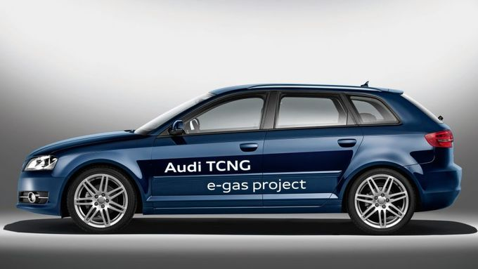Audi A3 TCNG e-gas project