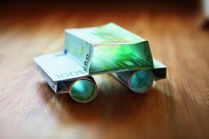 Auto, Geld, Fahrzeugauswahl