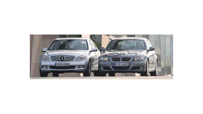 BMW 330d gegen Mercedes c 250 CDI: Eine Frage des Weltbildes
