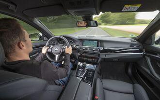 BMW 5er Innenraum (Modell bis 2016)