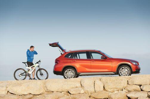 BMW X1 2012 Freizeit Urlaub privat Fahrrad