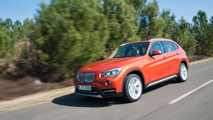 BMW X1, auf die Straße