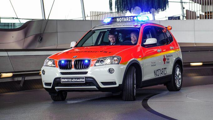 BMW X3, Notarzt