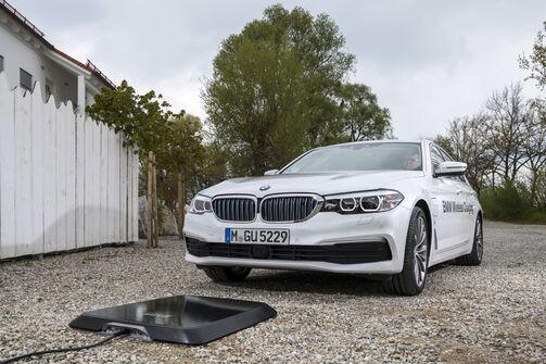 BMW induktives Laden