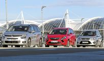Citroen Grand C4 Picasso, Opel Zafira Tourer, Ford Grand C-Max