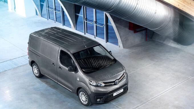 Der neue Toyota Proace kommt Mitte September 2016 auf den Markt