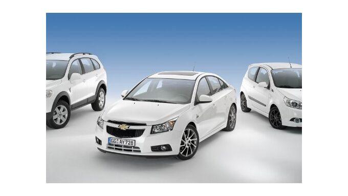 Drei Sondermodelle von Chevrolet