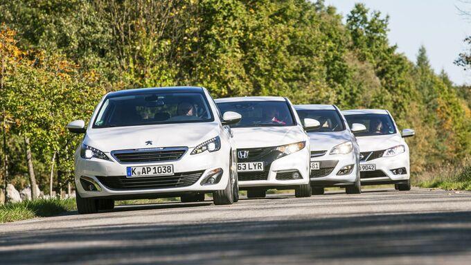 Drei gegen den Opel Astra