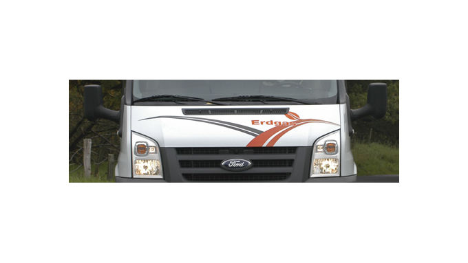 Ford Transit - die Erdgasvariante