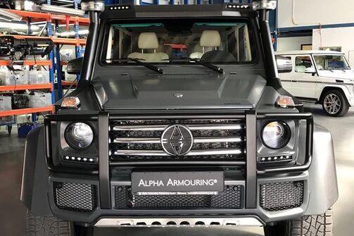 Gepanzerte G-Klasse von Alpha Armouring