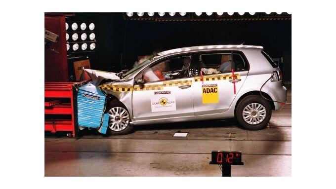 Golf VI beim ADAC-Crashtest