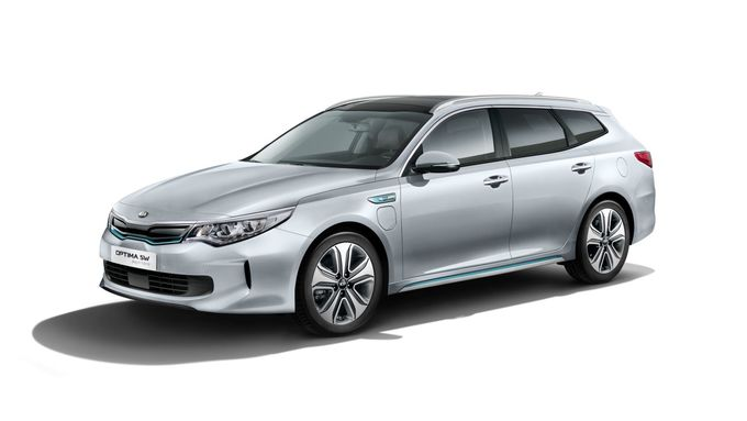 Kia Optima Sportswagon Plug-in Hybrid 2017