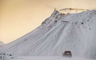 Land Rover Discovery Sport Schnee Winter