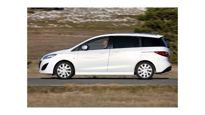 Mazda 5 mit sparsamem Motor
