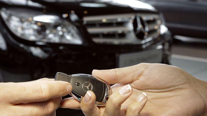 Mercedes Autoschlüssel Schlüssel