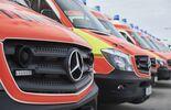 Mercedes-Benz Vans: Blaulicht mit Stern: 480 Sprinter für das Bayerische Rote Kreuz
