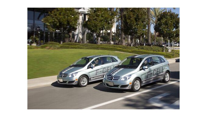 Mercedes Brennstoffzelle gar nicht so teuer