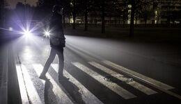 Die digital ausgeleuchtete Straße