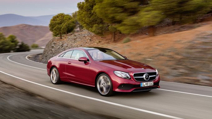 Mercedes E Klasse Coupé