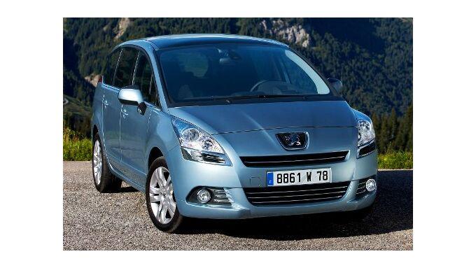 Peugeot 5008 auch mit 1,6-Liter-Diesel