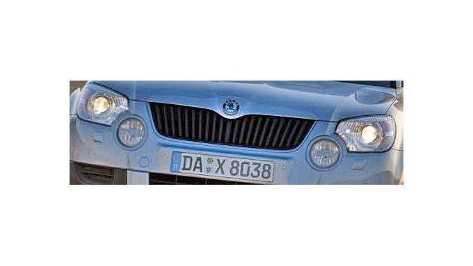 Skoda Yeti: Kompakt-SUV mit viel Platz