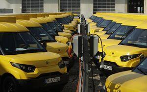 StreetScooter DHL Elektro-Fahrzeug