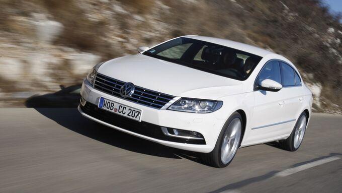 VW CC fahrend