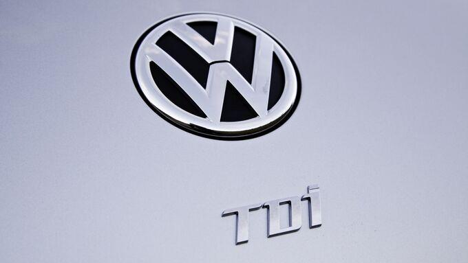 VW TDI Diesel Emblem Logo
