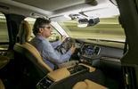 Volvo XC90 Fahrer fahrend Cockpit Innenraum