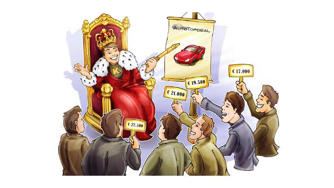 Wenn sich Autoverkäufer unterbieten