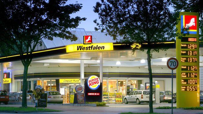 Westfalia Tankstelle
