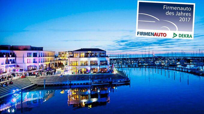 Yachthafenresidenz Warnemünde Firmenauto des Jahres 2017