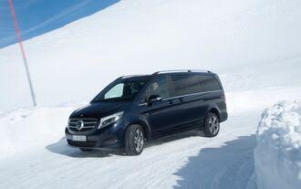 Allrad-Antrieb für den Stuttgarter Van