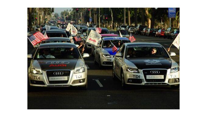 Am Mileage Marathon nahmen 32 Audi-Modelle teil.