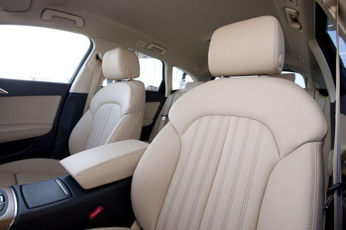 Audi A6 allroad Fahrersitz Leder
