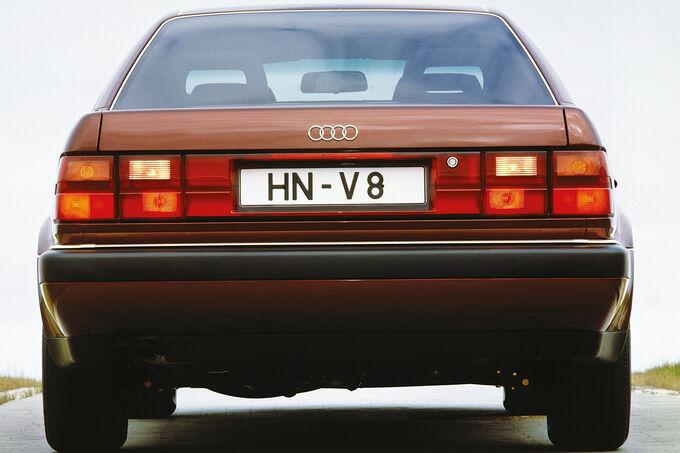 Audi V8, Heck