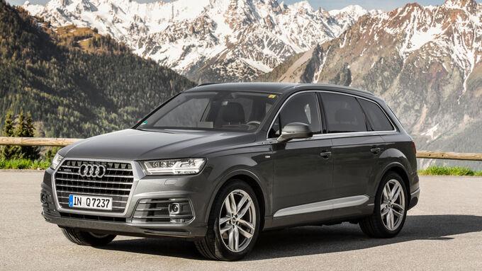 Audi bei Firmenauto des Jahres 2016