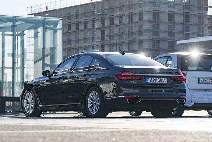 BMW 740e iPerformance 2017