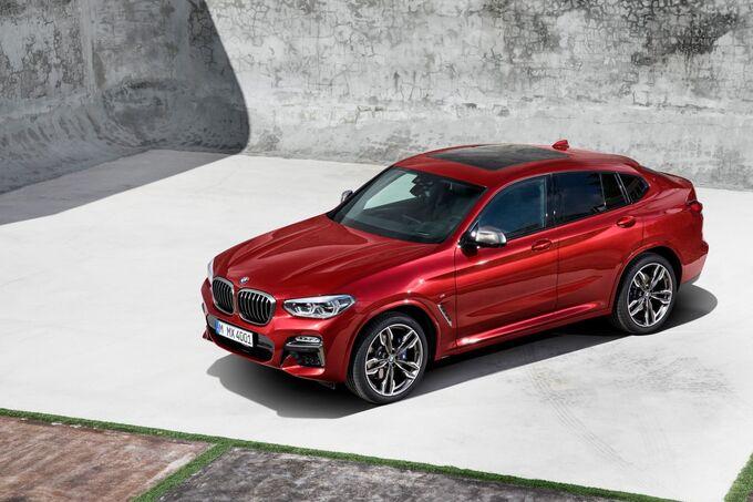 BMW X4 Genf 2018