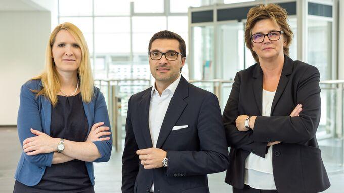 Carmobility Geschäftsleitung (vlnr): Dr Corinna Asmus, Matteo Carlesso, Judit Habermann