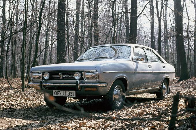 Chrysler Simca 160, silber