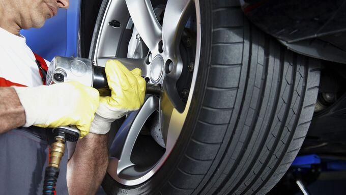 Daimler Fleet Management, Felge, Alu, Reifen