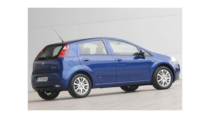 Das System Ecodrive steht im Fiat Punto zur Verfügung.