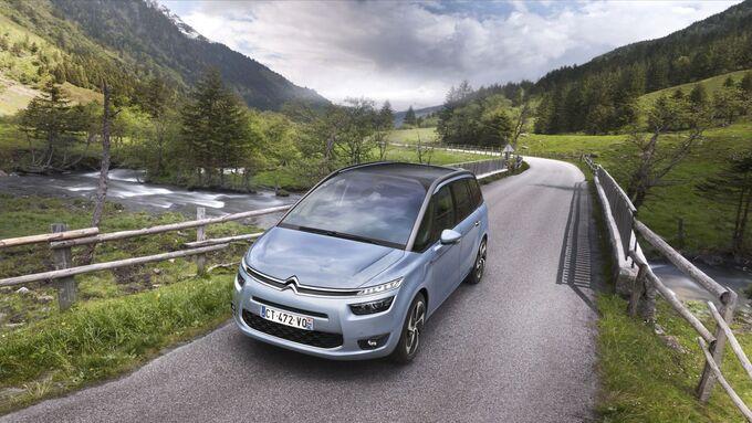 Der Citroën C4 Picasso ist erst seit kurzem auf dem Markt. Jetzt kommt die Langversion Grand C4 Picasso.
