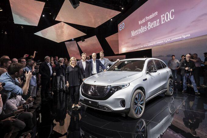 Der neue Mercedes-Benz EQC - Weltpremiere Stockholm 2018.// The new Mercedes-Benz EQC - World Premiere Stockholm 2018