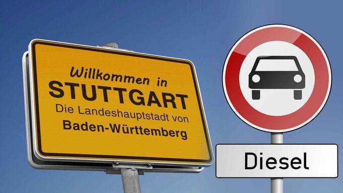 Diesel-Fahrverbot, Stuttgart