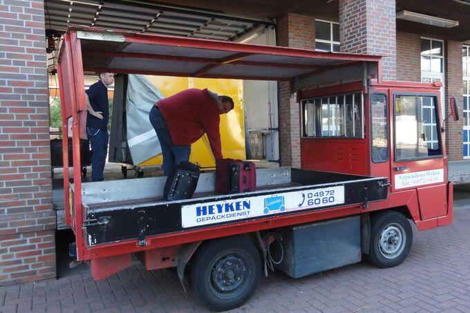 Elektronutzfahrzeuge auf Langeoog