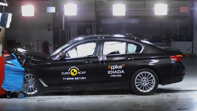 EuroNCAP-Crashtest BMW 5er